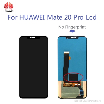 Huawei Mate 20 PRO LCD Display Screen Mate20Pro Original Defect Super AMOLED Touch Digitizer Assembly No Fingerprint