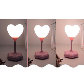 Romantyczna silikonowa lampka nocna LED dziecięca lampka dziecięca zdalna lampka do sypialni tanie i dobre opinie SONONIA CN (pochodzenie) Wiszący 202042304 Brak Pilot Żarówki LED Other Malowane WHITE Bezcieniowe 6-10 w
