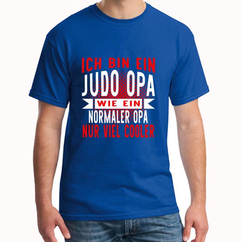 Funny Ich Bin Ein Judo Opa t shirt plus sizes s-5xl Short Sleeve Novelty Unisex homme tshirts Building slogan