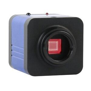 Image 2 - Câmera microscópica eletrônica, 36mp 1080p 60fps hdmi usb wi fi microscópio ocular eletrônico câmera + 0.5x c lens mount para microscópio biológico