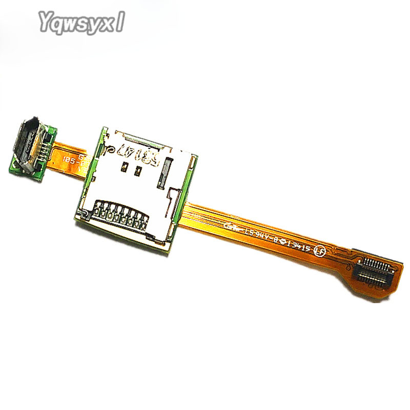 Yqwsyxl Original  PCB W Mini USB & MicroSD Holder Board For Garmin Edge 1000, Edge EXPLORE 1000, Approach G8 Repair Replacement