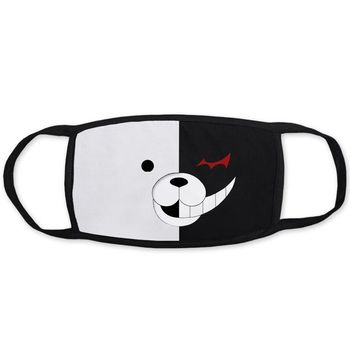 20 Styles Black Cotton Mouth Mask Unisex Teens Anti-Dust Mask Anime Mask Fashion Health Face Mouth Mask