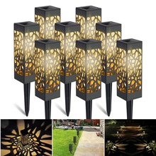 Lawn-Lamp Decoration Pathway-Light Garden Outdoor Waterproof Soalr Hollow