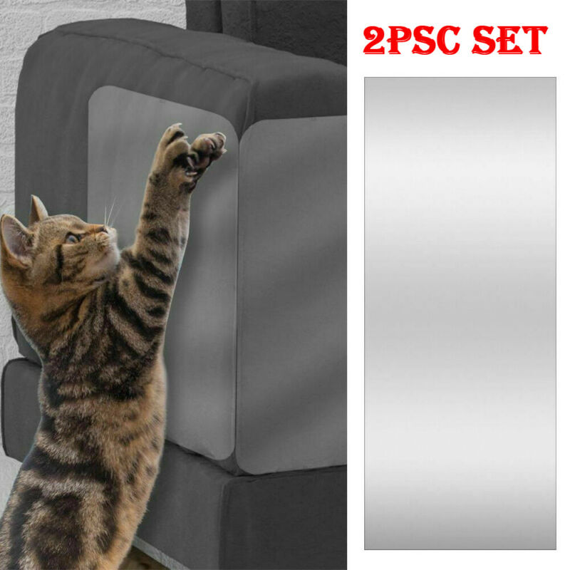 2020 Furniture Cat Scratch Guards Stops Couch Sofa Protector Pads Anti Scratching Protecting Corner Cover PVC Pet Cat Supplies