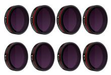 Freewell All Day   8Pack Filters   4K Series Used for Skydio 2 Drone