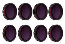 Freewell tüm gün 8 paket filtreler 4K serisi için kullanılan Skydio 2 Drone