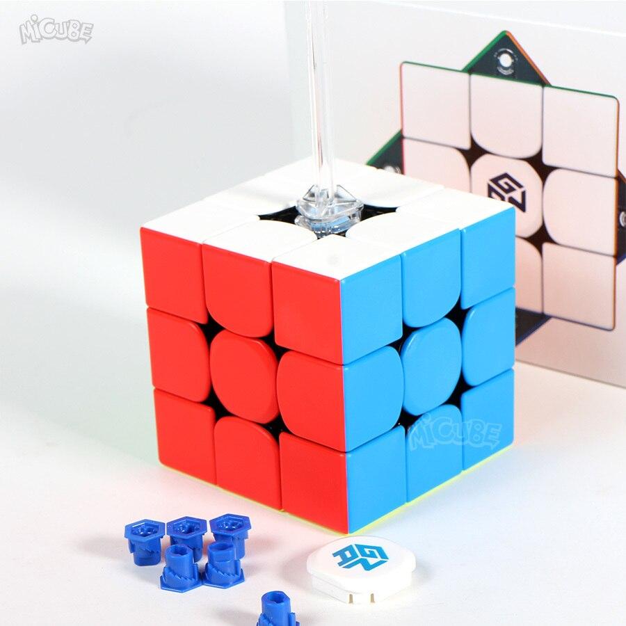 Puzzle Cube GAN356xs Cube magnétique Gan356 XS 3x3x3 Gan 356xs Cube magnétique 3x3x3 Cube de vitesse magique 3x3 Cubo Magico magnétique - 4