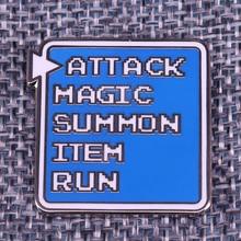 Final Fantasy Gamer Pin