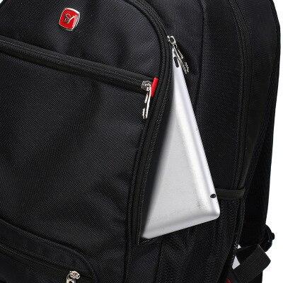 Sac à dos en toile grand Volume affaires Couple décontracté paquet résistant à l'usure sac à dos pour ordinateur portable sac à dos multifonctionnel