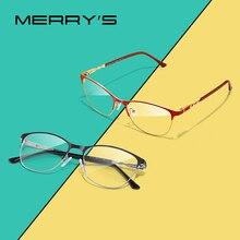 MERRYS DESIGN Frauen Fashion Trend Cat Eye Gläser Voller Rahmen Damen Myopie Brillen Rezept Optische Brillen S2110