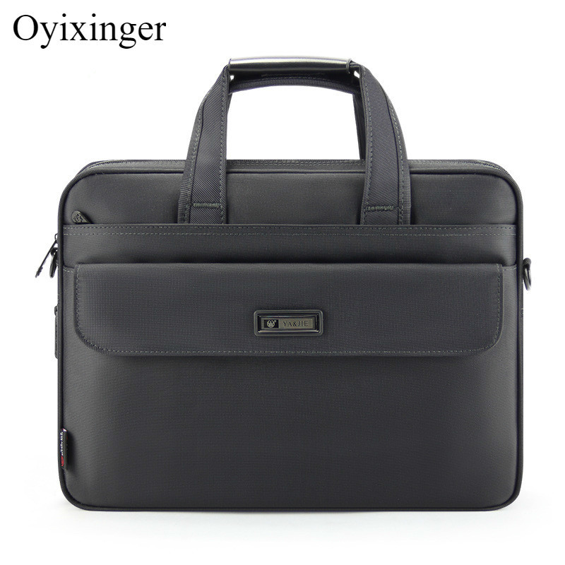New Large Capacity Men's Briefcases Waterproof Durable Male Handbag Laptops Shoulder Bag Men Lawyer Travel Bags Bandolera Hombre