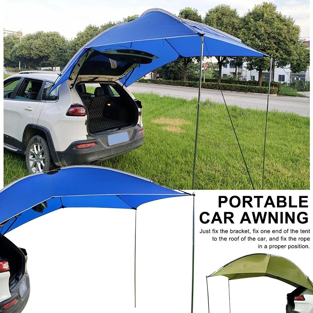 furgoneta toldo impermeable port/ón trasero sed/án camping al aire libre Tienda de campa/ña de coche para coche toldo para SUV Hatchback toldo para caravana