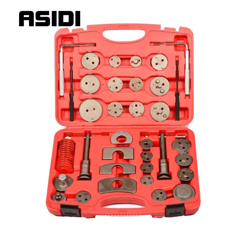 35Pcs Universal Car Truck Disc Brake Caliper Piston Rewind Wind Back Tool Kit  PT1041