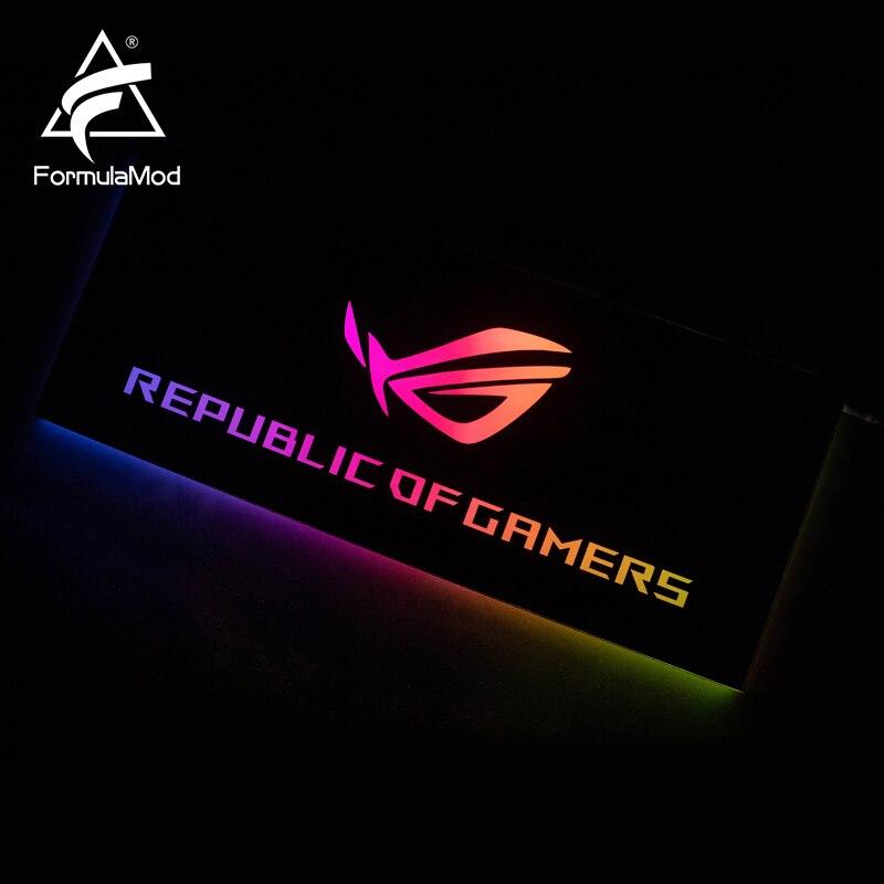 FormulaMod Fm-DB, Gpu Decorative Backplate, With 5v 3pin Lighting LED Acrylic Backplane, Can Sync To MotherboardFormulaMod Fm-DB, Gpu Decorative Backplate, With 5v 3pin Lighting LED Acrylic Backplane, Can Sync To MotherboardFormulaMod Fm-DB,FormulaMod Gpu Decorative Backplate,FormulaMod GPU Decorative LED Acrylic Backplane
