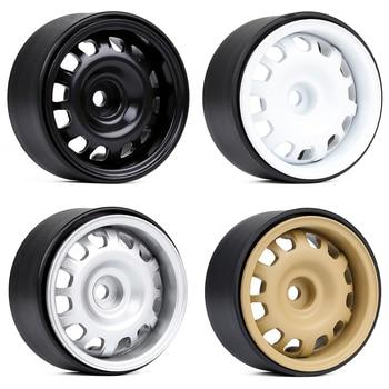 "INJORA 4PCS 1.9"" Beadlock Wheel Rims for 1/10 RC Crawler Car Axial SCX10 II 90046 Traxxas TRX-4 RedCat Gen8 2"
