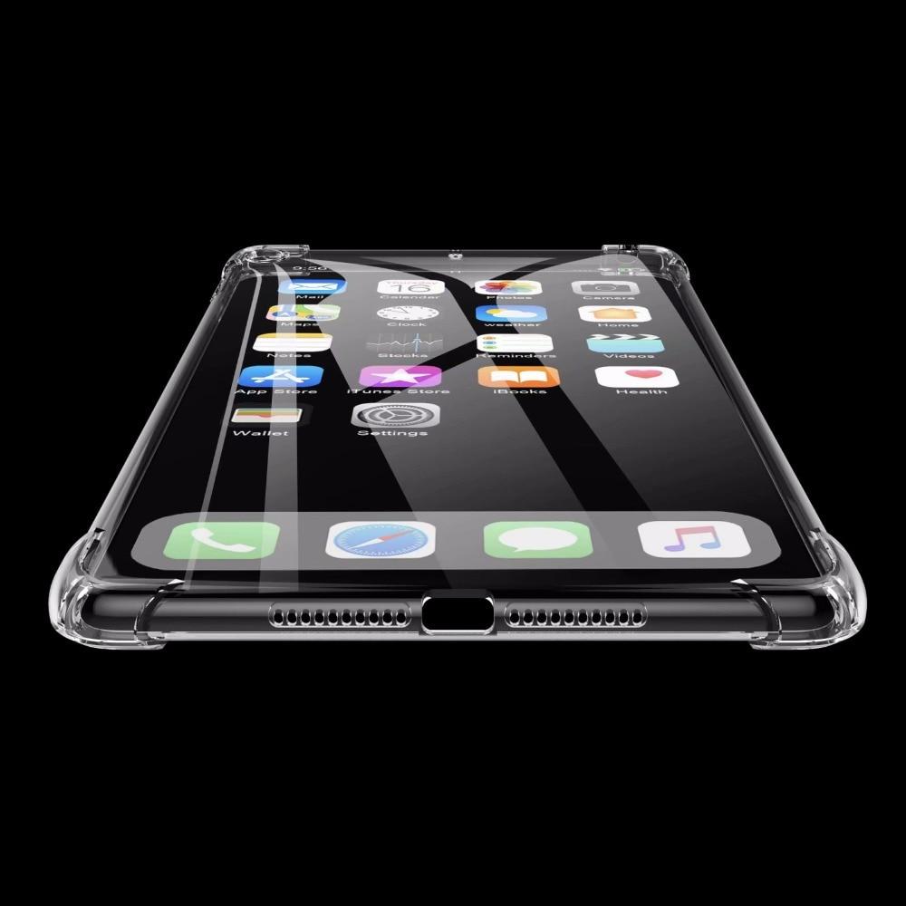 12.9 Pro Cover Case Soft Silicone Slim Ultra For iPad 2017 A1584 2015 2020 2018 A1652