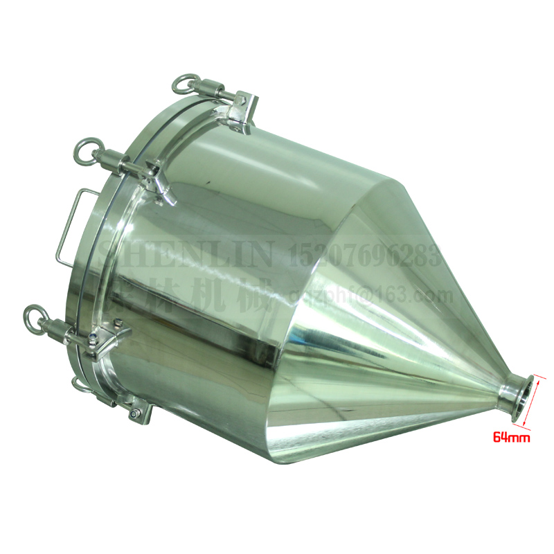 Hopper SS304 Stainless Air Tighten Hoppre For Filling Machine With Aire Pressure  64mm Connect Filling Machine Spare Part Kit