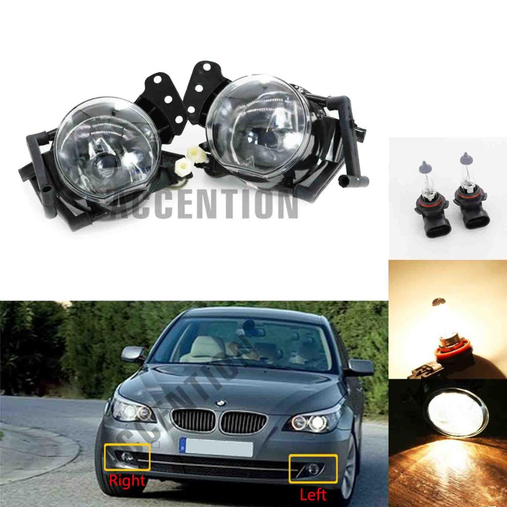 Car Fog Lamp Assembly For <font><b>BMW</b></font> E60 <font><b>E90</b></font> E63 E46 323i 325i 525i <font><b>Front</b></font> Bumper Fog <font><b>Light</b></font> image