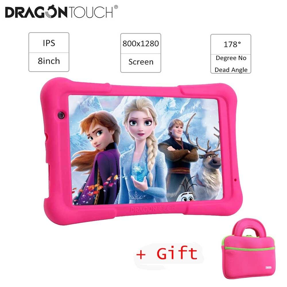 2019 Dragon Touch Y80 enfants tablette 8 pouces écran HD Android tablette pour enfants 16GB Quad core 1.5GHz USB Android 8.1 tablette