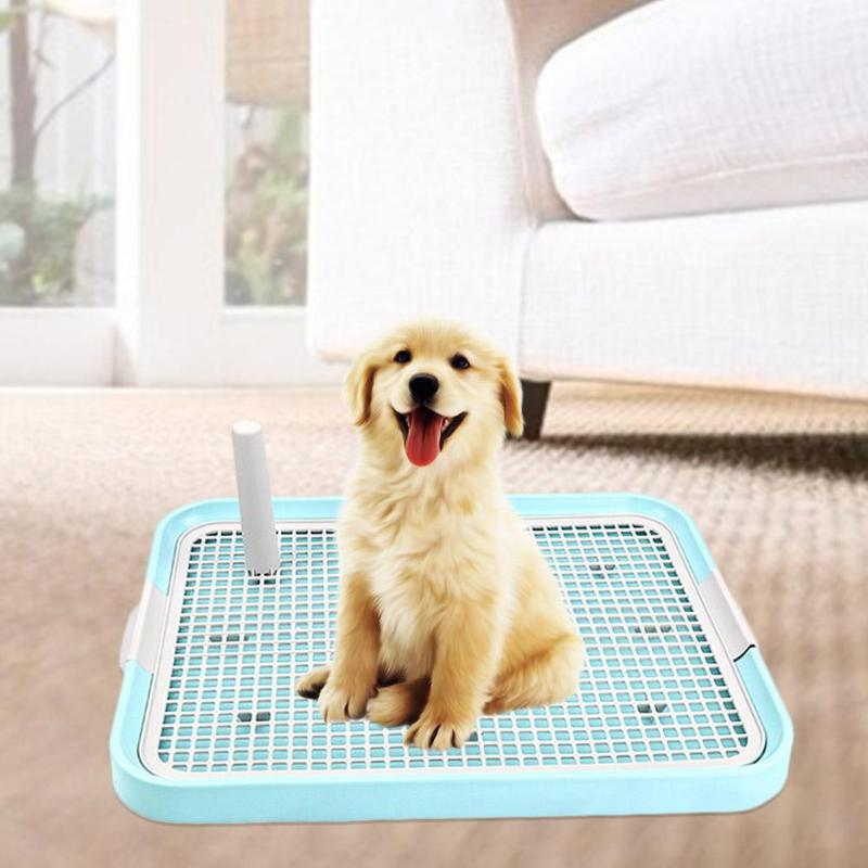 Pet Dog Toilet Cat Litter Tray Potty Toilet For Dogs Cat Puppy Pad Doggy Pee Training Toilet Mesh Pet Dog Product Dropshipping
