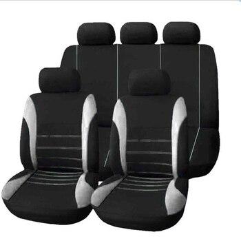 Car seat cover 4pcs/9pcs car protective auto parts grey