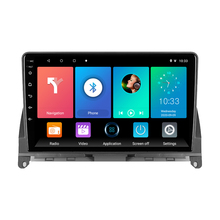 Eastereggs 9 player 2 2 din carro multimídia jogador android 8.1 wifi gps autoradio para mercedes benz c classe 3 w204 s204 2006 - 2011