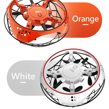 UFO Drone Infrared Sensing Control RC Quadcopter Induction Altitude Hold Mini In