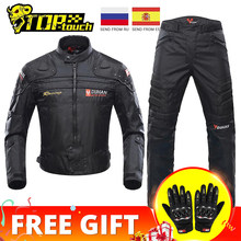 DUHAN Moto vestes hommes équitation Motocross Enduro course veste Moto veste coupe-vent résistant au froid Moto vêtements Protection