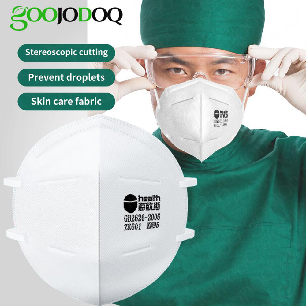 KN95 5 Layers Mask Antivirus Flu Anti Infection KN95 Anti Masks Particulate Respirator PM2.5 Protective Safety Same As KF94 FFP2