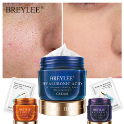 BREYLEE Hyaluronic Acid Face Cream Serum Anti Aging Wrinkle Remover Facial Creams Mask For Skin Whitening Moisturizer Day Cream