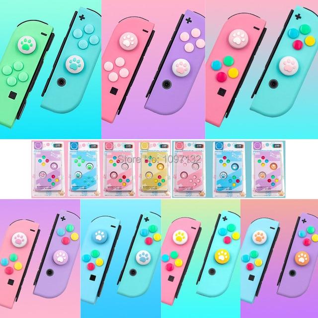 10 комплектов джойстиков для джойстиков Joy Con, джойстик для Nintendo Switch, чехол для джойстика