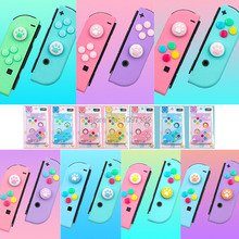 10 Sets Voor Vreugde Con Controller Animal Crossing Thumb Stick Grip Cap Joystick Cover Voor Nintendo Switch Joycon Thumbstick case