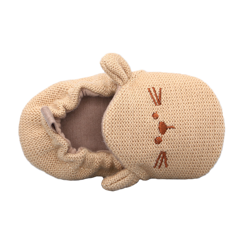 Cartoon Knitted Cotton Baby Shoes
