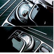 1 pièces autocollant de bouton multimédia de voiture pour Mercedes CES CLS CLA CLK CLG GLS AMG W204 A160 A180 A200 W203 w213 w205 w212 accessoire