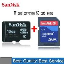 SanDisk TF карта 8G 16G мобильный телефон карта памяти TF голая карта пение машина MicroSD карта