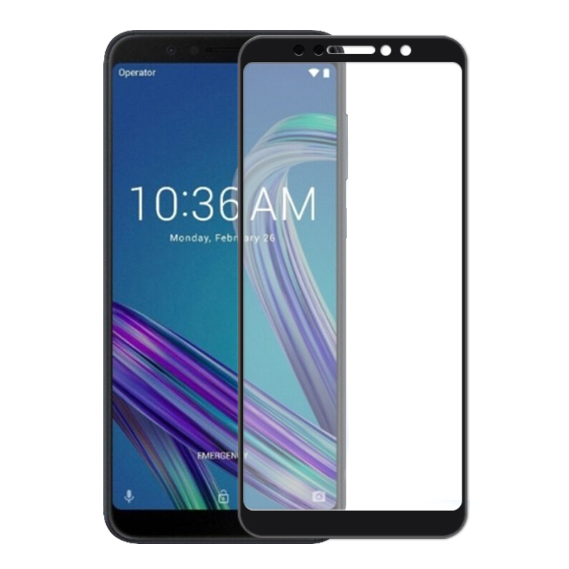 9H 3D Curved Tempered Glass Anti-Explosion Screen Protector For ASUS Zenfone Max Pro M1