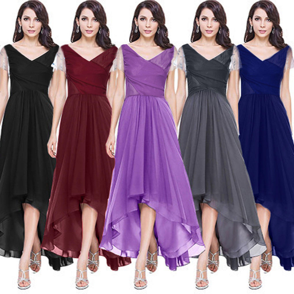 sukienki robe femme vestidos women dress Short Sleeve Chest Cross Sexy Party Long dresses woman party night  ropa mujer