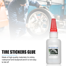 20ml/ 50ml Tire 3D Letter Stickers Special Glue Sticky Waterproof And Dustproof Tire Sticker Glue