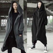 Women Hooded Coat Jacket 2020 Plus Size M-5XL Female Long Sleeve Zip Long Jackets Ladies Winter Outerwear Veste Longue Femme New