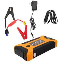 1 conjunto útil carregador de carro 20000ma power bank 12 v carregador de bateria com plugue dos eua