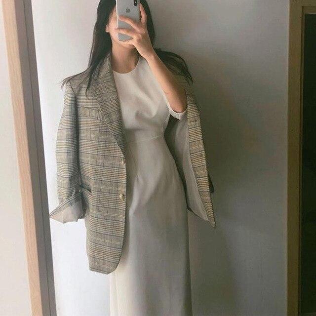 Sister Fara New Spring Elegant O-Neck Dress Ladies Office Fashion Sexy Solid Dress Women Autumn Slim Midi Dress Vestidos OL 2021 2
