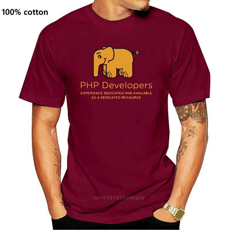 Desenvolvedores de php experiência dedicada e disponível como um geek de recursos dedicados deve ter 220gms impressão camiseta t