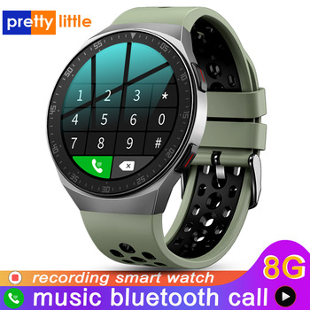 MT-3 Smart Watch Men Bluetooth Call Full Touch Screen 8G Memory Space 2020 New Smartwatch For Android IOS Sports Fitness Tracker 1