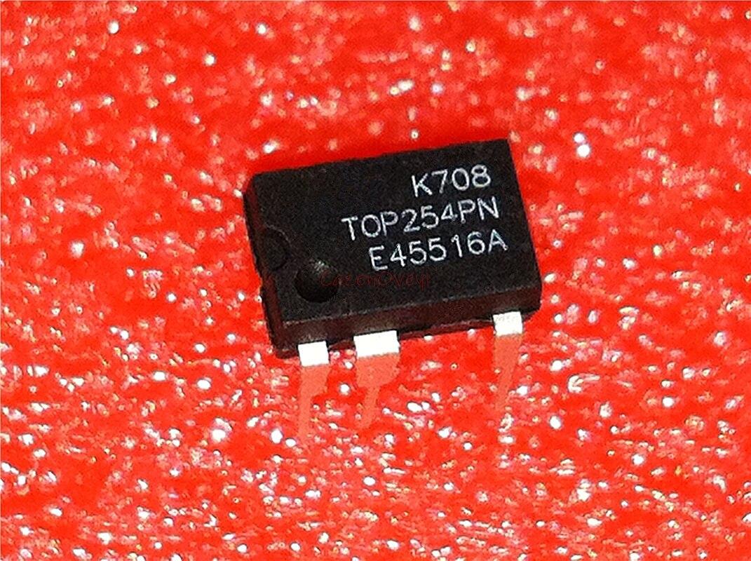 10PCS  TOP256PN TOP256P DIP7 power driver management chip