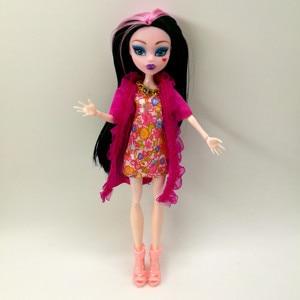 Image 2 - 4 pz/lotto nuovo stile monster fun high Dolls Monster Draculaura hight mobile Joint, bambini miglior regalo allingrosso bambole di moda