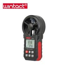 Температура ветра и устройство для измерения скорости ветра с светодиодный подсветка и от холодного ветра индикатор