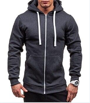 MRMT 2021 New Men's Hoodies Sweatshirts Zipper Hoodie Men Sweatshirt Solid Color Man Hoody Sweatshirts For Male