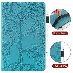 Роскошный чехол из искусственной кожи с перьями для планшета HUAWEI MediaPad T5 10,1 дюймов, чехол-книжка с подставкой и отделением для карт, держатель для карандашей