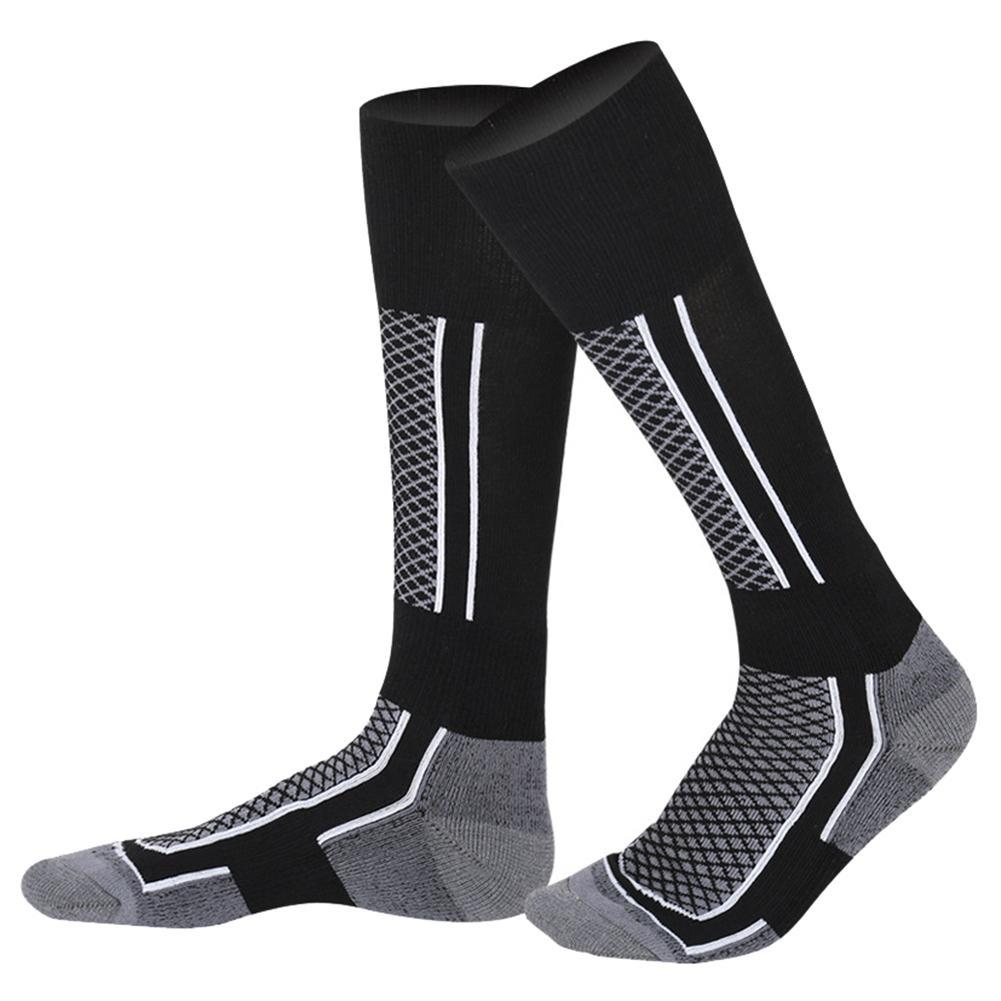 Unisex Funny Printed Compression Stockings Cycling Socks Fit Outdoor Sports Snowboard Cotton Thermal Warm Long Ski Ankle Socks