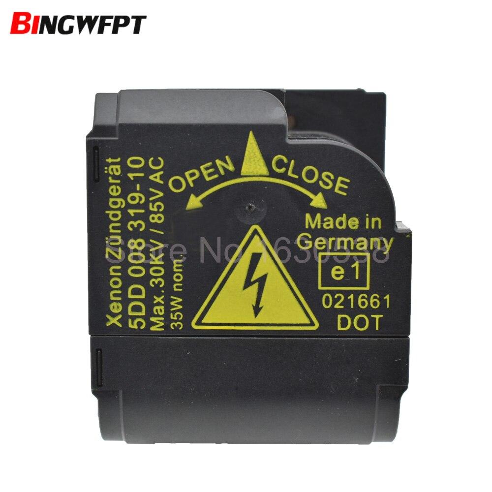Original USED Xenon HID Headlight Starter Igniter Black Ignitor Socket Box 5DD 008 319-10 5DD00831910 5DD008319-50